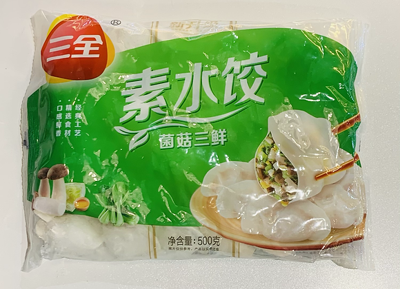 三全水饺-菌菇三鲜 500g SQ Mushroom & Vegetable Dumpling