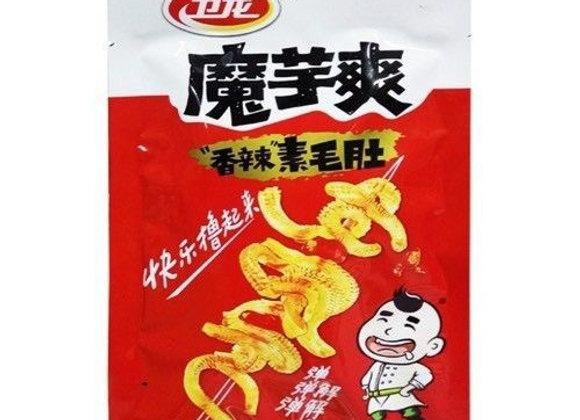卫龙魔芋爽-香辣素毛肚 50g WL Knojac Strips-Spicy Flavour