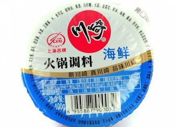 川崎火锅调料-海鲜99g CQ Hot Seasoning-Seafood Flavour