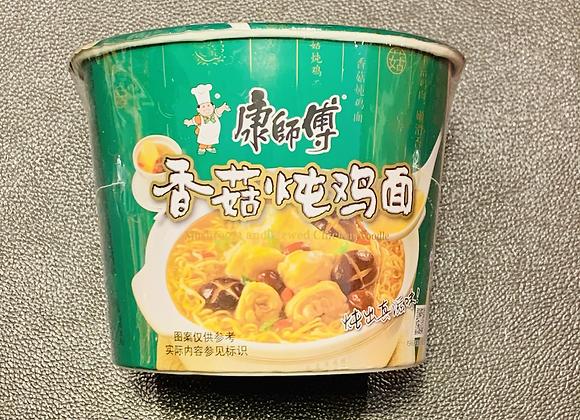 康师傅桶面-香菇炖鸡 113g KSF Instant Bowl Noodles-Chicken with mushroom Flavour