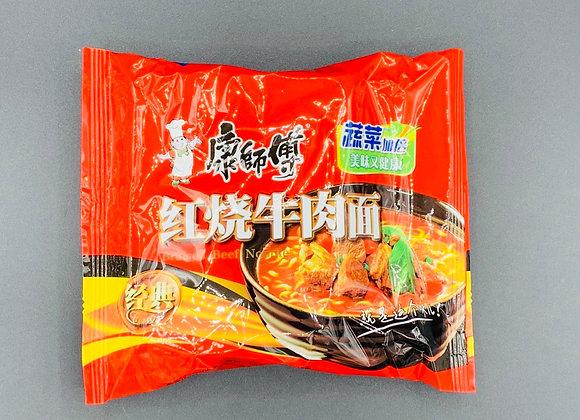 康师傅红烧牛肉面103g KSF Instant Noodles- Artificial Roasted Beef Flavour