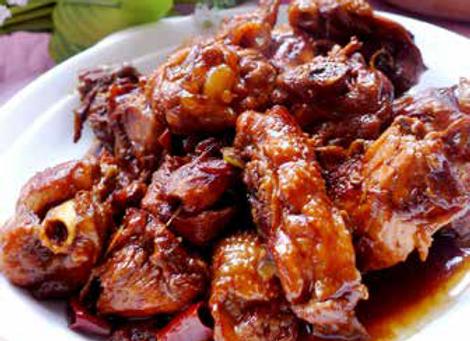 三杯鸡 Stewed Chicken with Three-cup Sauce