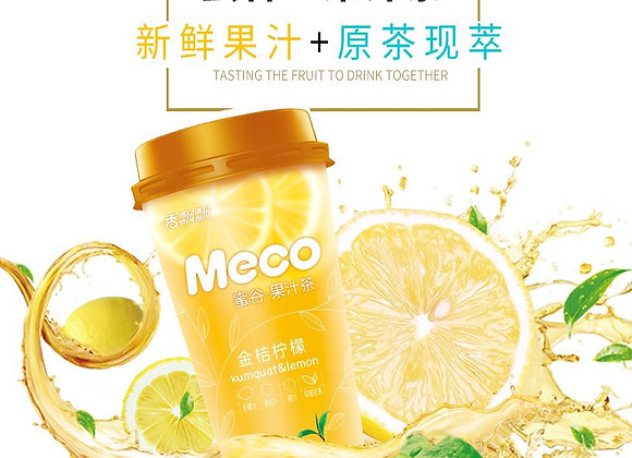 蜜谷金桔柠檬茶 400ml Meco Kumquat & Lemon Tea