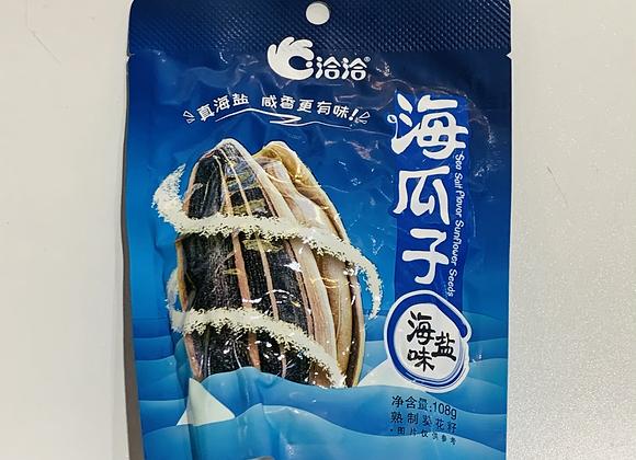 恰恰瓜子-海盐味 108g QQ Sunflower Seeds-Sea Salt Flavour