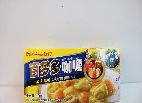 好侍百梦多咖喱-辣 100g HS Curry-Hot