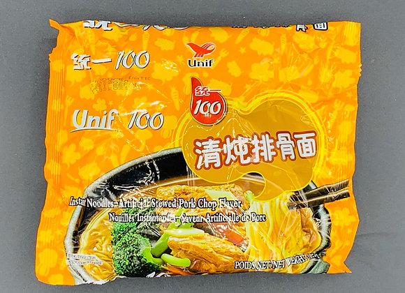 统一清炖排骨面 105g Unif 100 Instant Noodle-Stewed Pork Chop