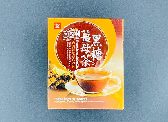3点1刻黑糖姜母茶 75g 3: 15pm Brown Sugar Ginger Tea