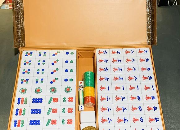 民润高级麻将(绿白)MR Mahjong Tiles