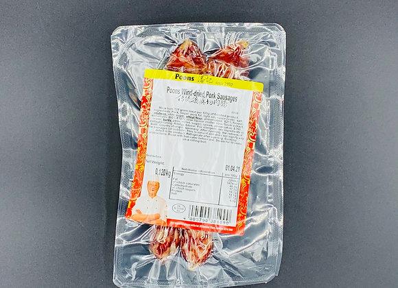 潘记切肉肠120g POONS Pork Sausages