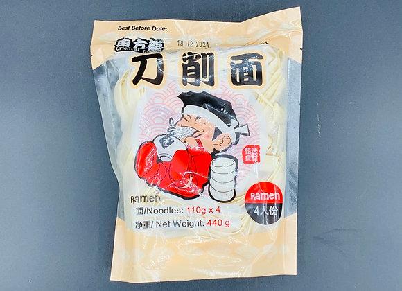 东方龙刀削面4x110g Oriental Dragon Handmade Sliced Noodles