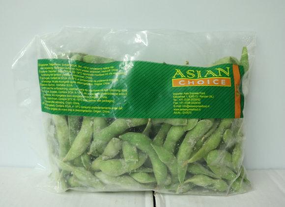 Asian带壳毛豆500g Asian Soybean(Edamame)