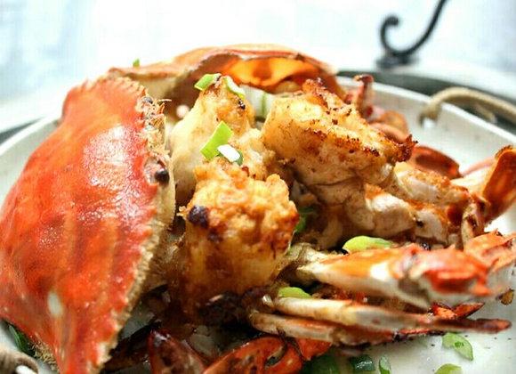 姜葱蟹 Fried Crab with Ginger and Spring Onion