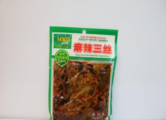 味聚特麻辣三丝138g