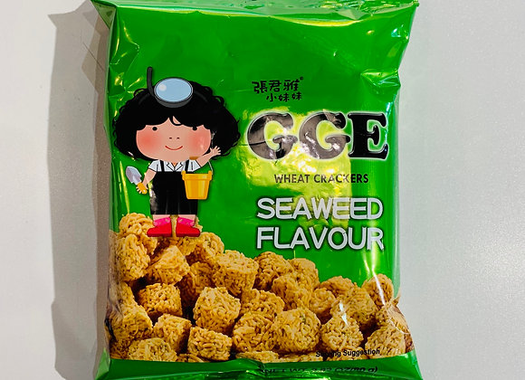 张君雅脆面-海苔味 80g GGE Wheat Cracker-Seaweed Flavour