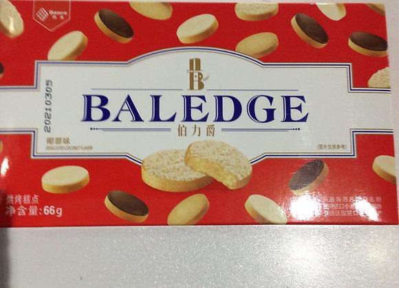伯力爵吐司饼干-椰蓉味 64g Baledge Toast Biscuit-Coconut Flavour