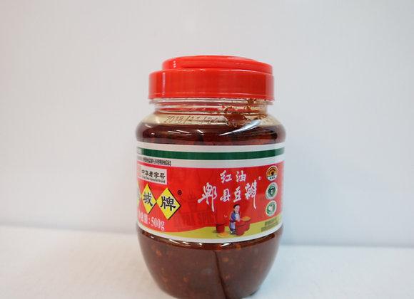鹃城红油郫县豆瓣 500g JCP Broad Bean Sauce