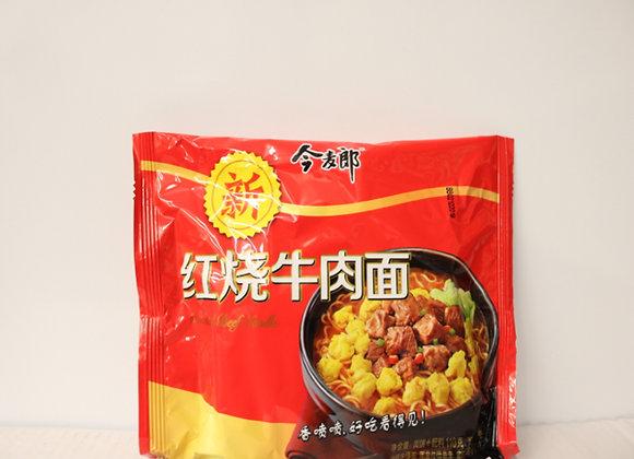 今麦郎红烧牛肉面 110g JML Instant Noodles-Stew Beef