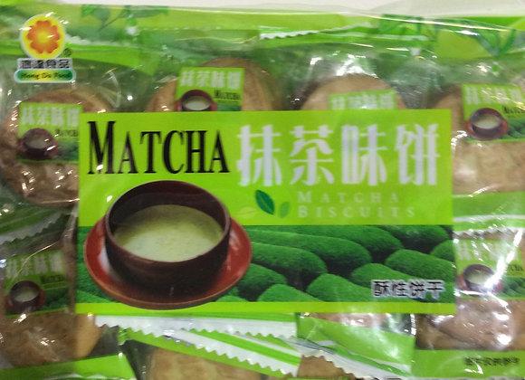 鸿达抹茶饼干 400g HD Matcha Flavoured Biscuits
