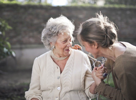 Un día en la vida de un adulto mayor en tiempos de Covid 19