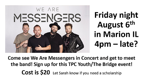TPC youth August Messengers Concert.PNG