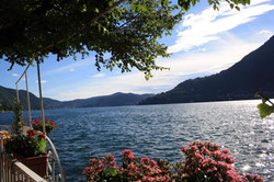Vista lago terrazza
