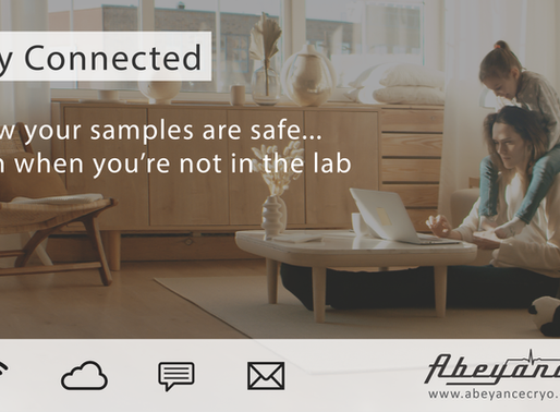 Stay Connected and Know Your Samples are Safe