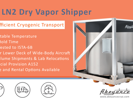 Safe & Efficient Cryogenic Sample Transport