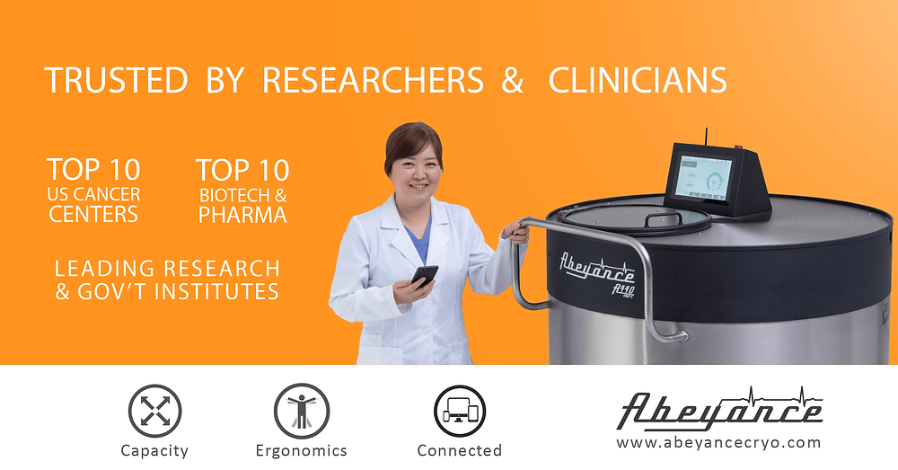 Abeyance cryogenic freezers are trusted by researchers and clinicians
