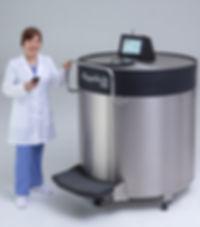 Abeyance Cryogenic Freezer - Stay Connected
