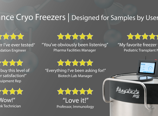 Can you say this about your cryo freezers?