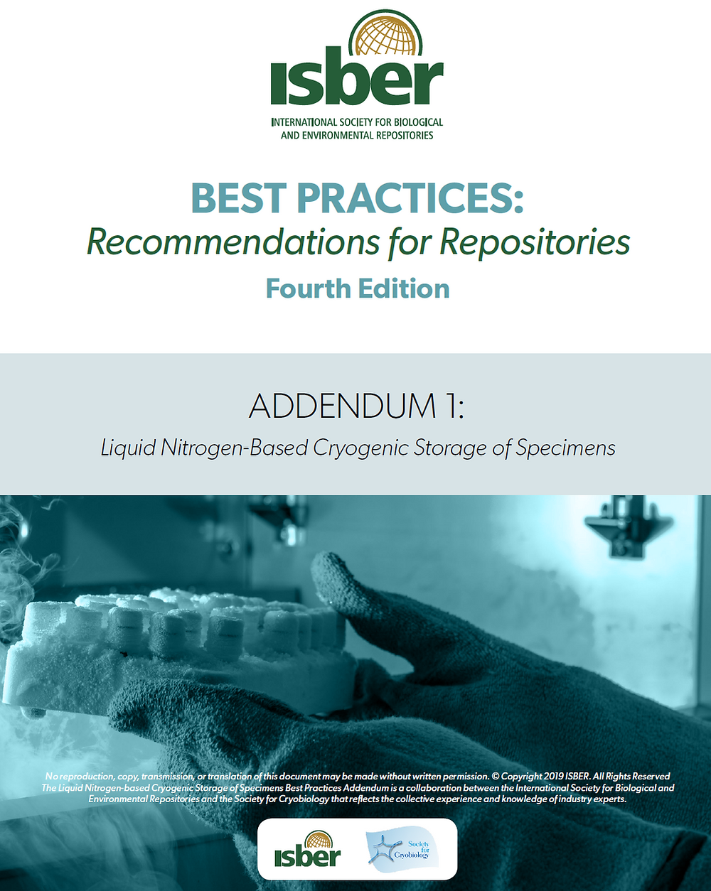 ISBER Best Practices: Recommendations for Repositories