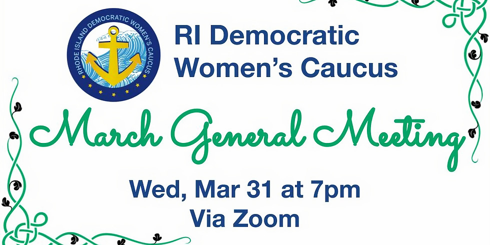 March 2021 General Meeting