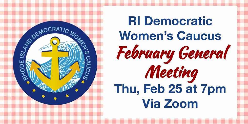 February General Meeting