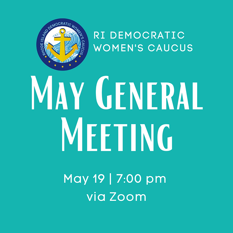 May 2021 General Meeting