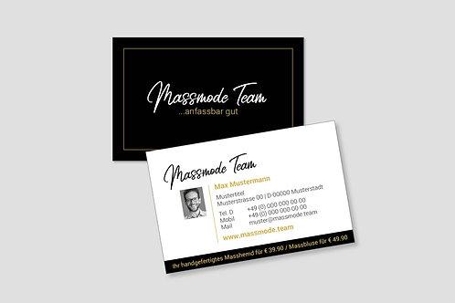 Visitenkarten exkl. für Goldpartner