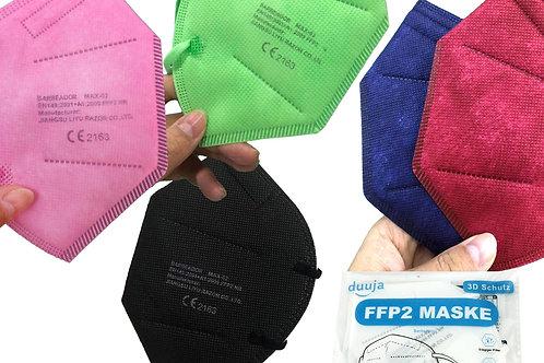 FFP 2 Masken in diversen Farben