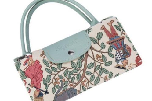 Alice im Wunderland Faltbare Tasche