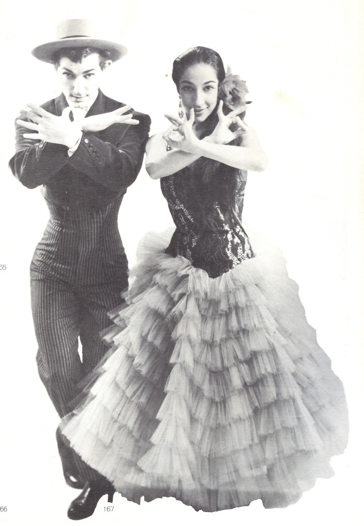 Enrique Segovia and Mercedes Molina