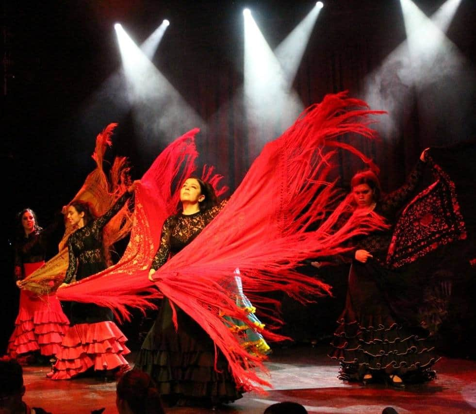 Danza Flamenca Grupo Vassilis Skepetaris.
