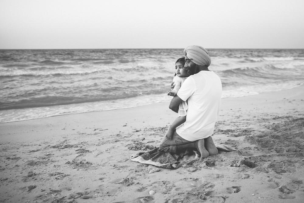 Karen Holden Photography; Abu Dhabi Family Photographer; The last bit of sun
