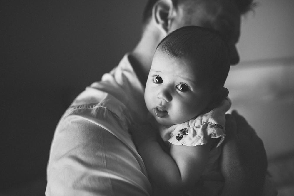 Karen Holden Photography - Abu Dhabi Newborn Photographer - Wide Eyed