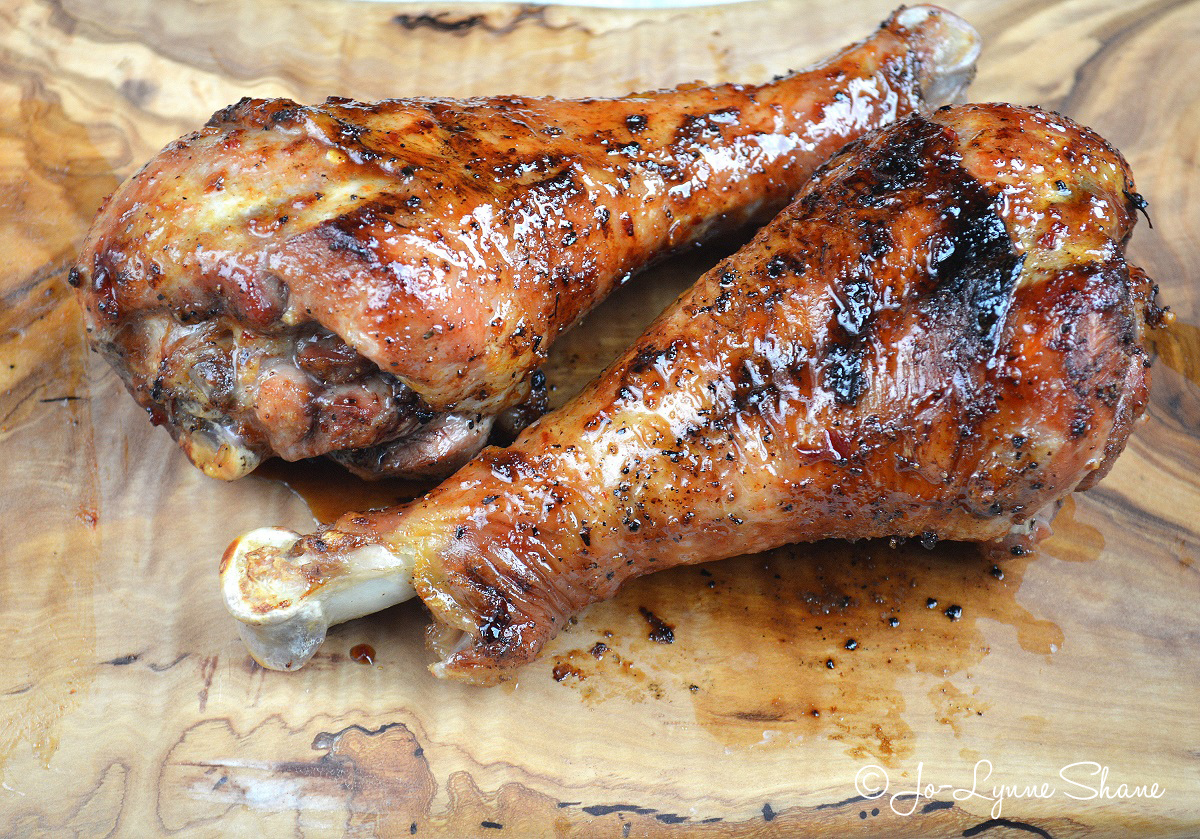 BBQ-Grilled-Turkey-Legs