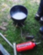 Bald wird die Camping Küche unsere Home
