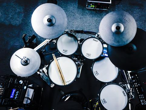 Drumset is configured (finally)