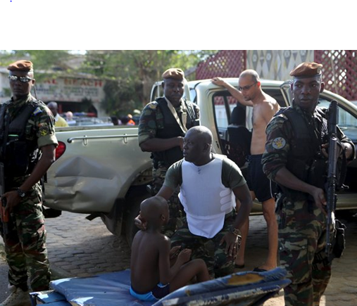 Military presence grows increasingly stronger as violence escalates in Africa.
