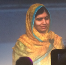 What It's Like to See Malala In Person