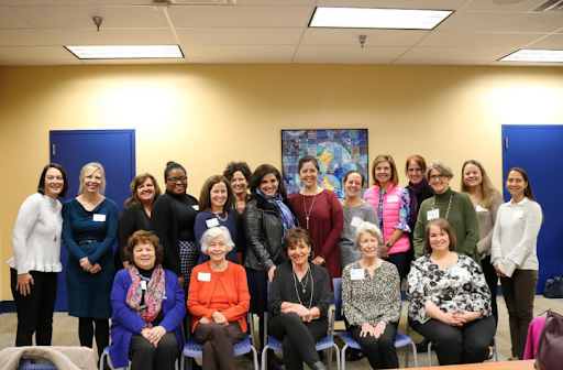 SUA alumnae who attended a luncheon on November 13. Many are alumnae with daughters that are current students!