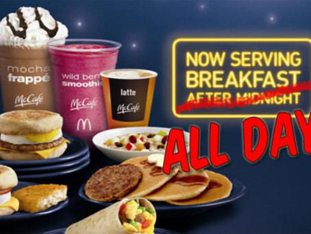 Breakfast All Day at McDonald's: Beneficial or Problematic?
