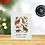 Carte de Noël à semer   Papier ensemencé