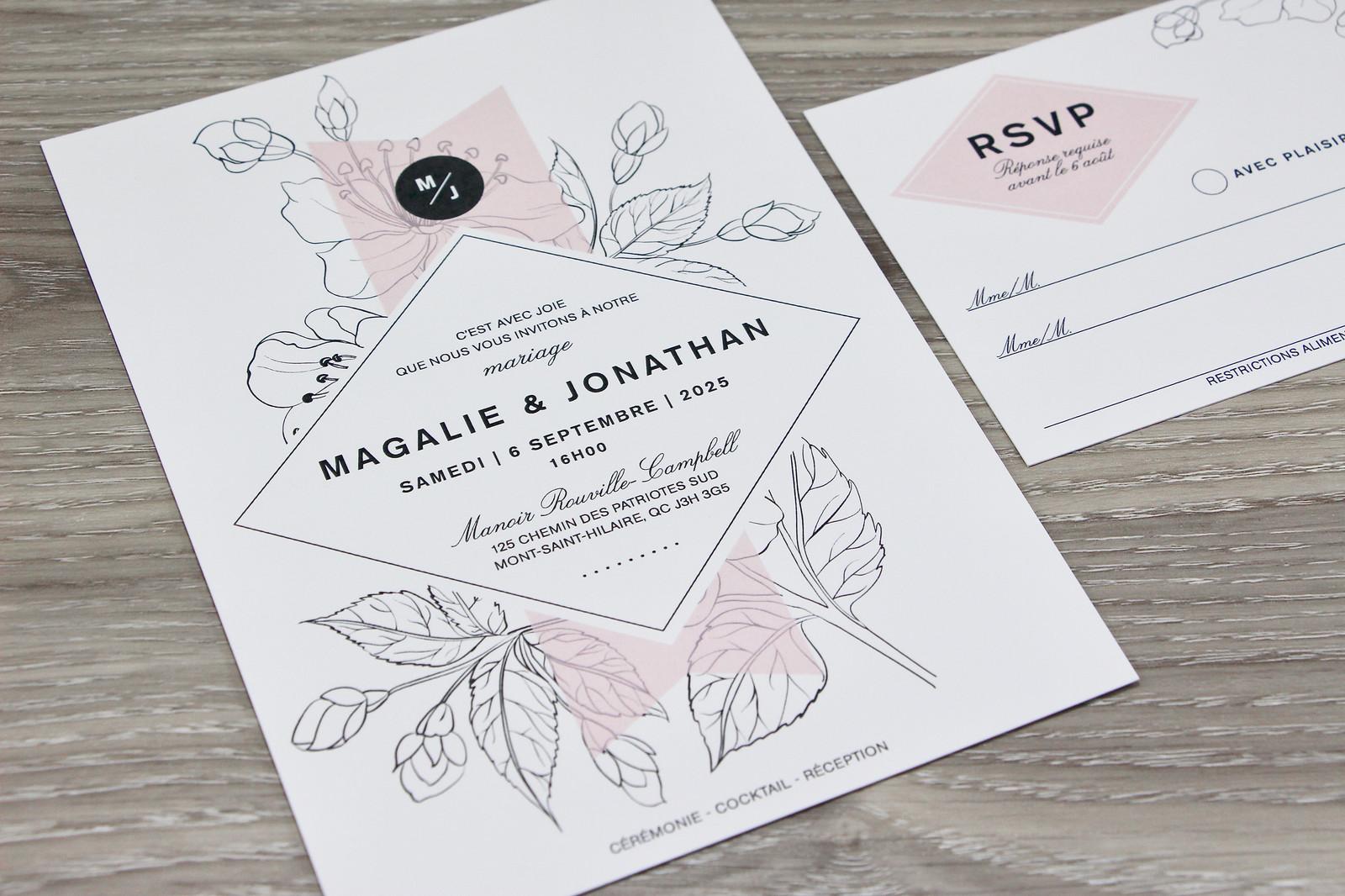 Invitation Faire Part De Mariage